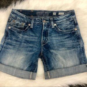 Miss Me Boyfriend Shorts - Sz 29